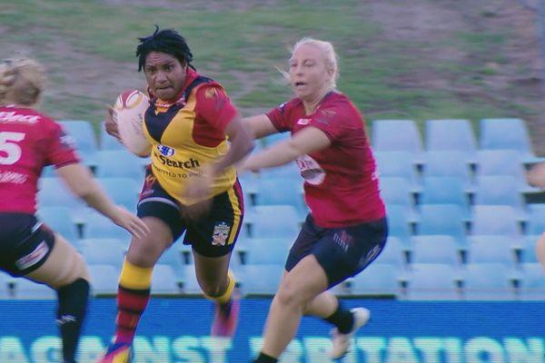 Power Meri. Rugby féminin PNG