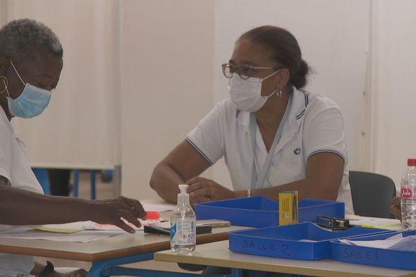 Centre de vaccination de Cayenne