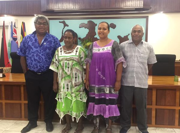 Province îles, nouvel exécutif, 17 mai 2019