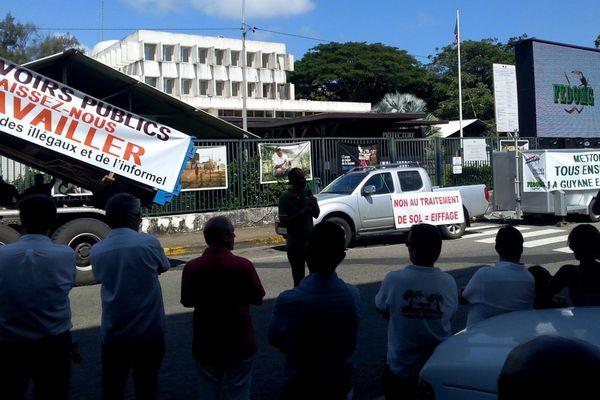 Manifestation socioprofessionnels le 16 septembre 2015