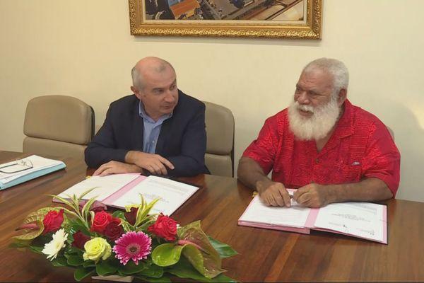 Province Nord : signature du 2e avenant au contrat de développement 2017-2021