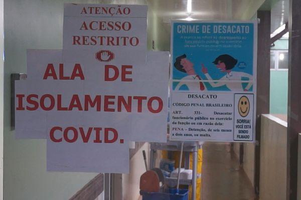 Aile Covid de l'hôpital d'oiapoque