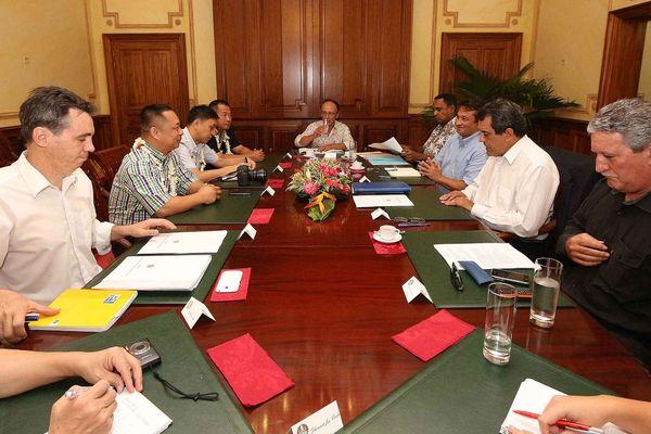Projet aquacole : une délégation de Tian Jui en visite à Hao
