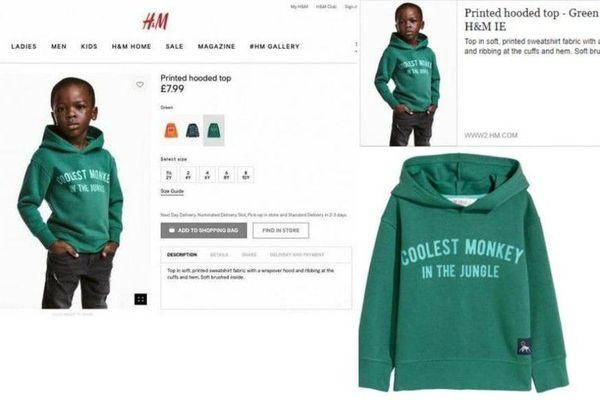 H&M Sweat-shirt Racisme
