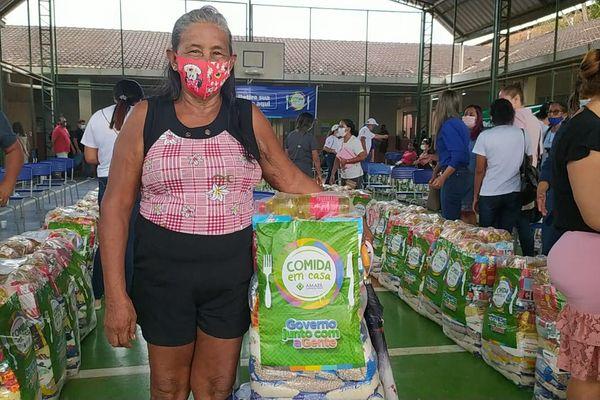 Oiapoque : Une livraison de colis alimentaire pour 750 familles en difficultés