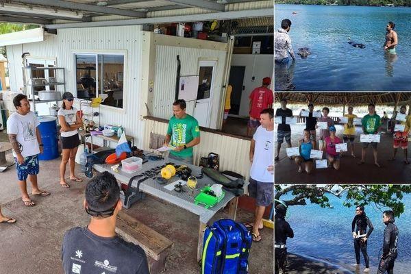 La fédération tahitienne des sports subaquatiques de compétition forme ses cadres