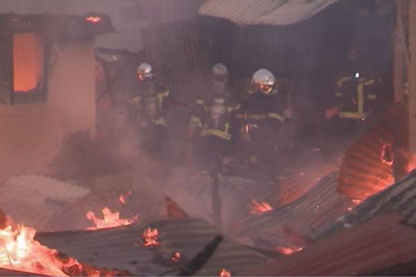Incendie à Blanchard