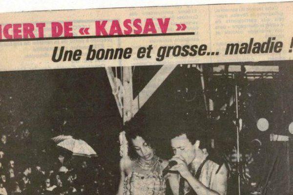 une presse kassav