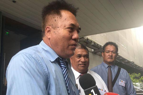 Pakumotu devant le haut-commissariat - janvier 2019