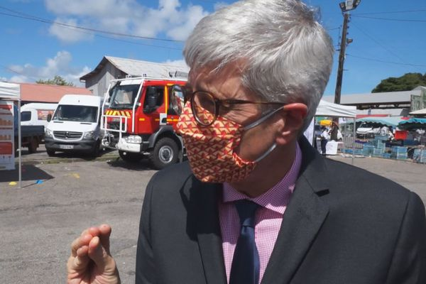 Marc Del Grande, préfet de Guyane