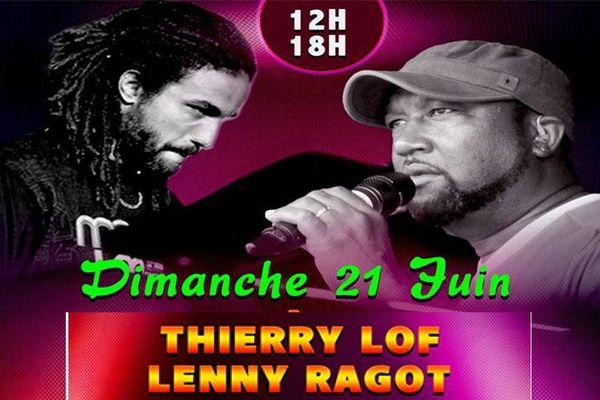 Thierry Lof et Lenny Ragot
