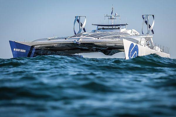 Energy observer : la catamaran du futur