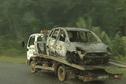 L'enquête sur la voiture calcinée avec un corps carbonisé à l'intérieur se poursuit