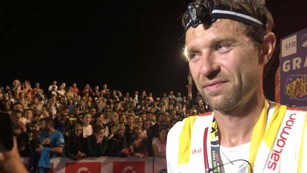 François D'Haene vainqueur ex aequo du Grand Raid 2018