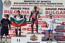 Podium championnat d'europe Bulgarie -26 septembre 2021