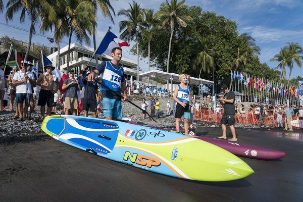 Titouan Puyo, Mondiaux de paddle, sprint