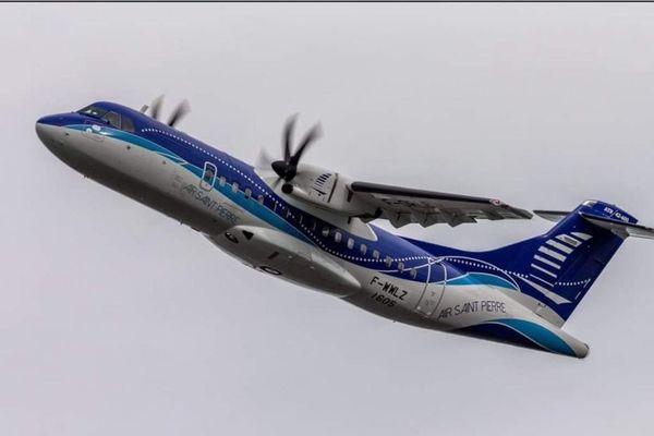 Le nouvel ATR d'Air Saint-Pierre est arrivé à Saint-Pierre et Miquelon.