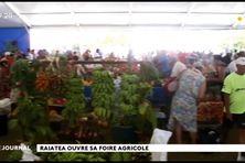 Ouverture de la Foire agricole d'Uturoa