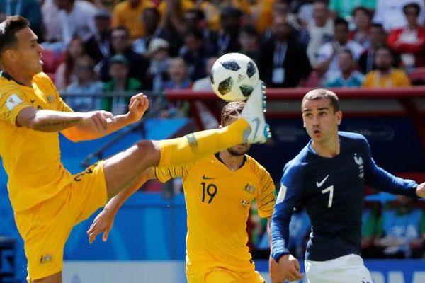 Trent Sainsbury et ses coéquipiers - coupe du monde