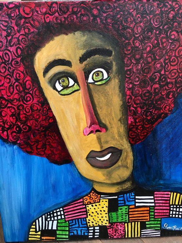 Portrait de femme Gersi Reis