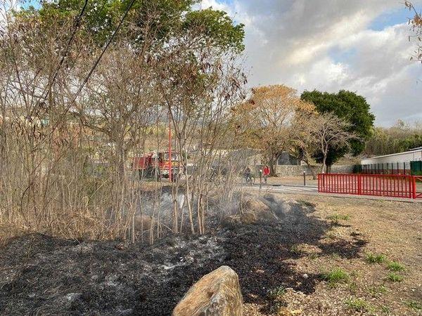 Incendie à La Possession intervention du Dash 111020
