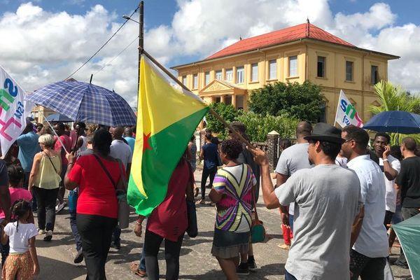 Manifestation à Saint-Laurent
