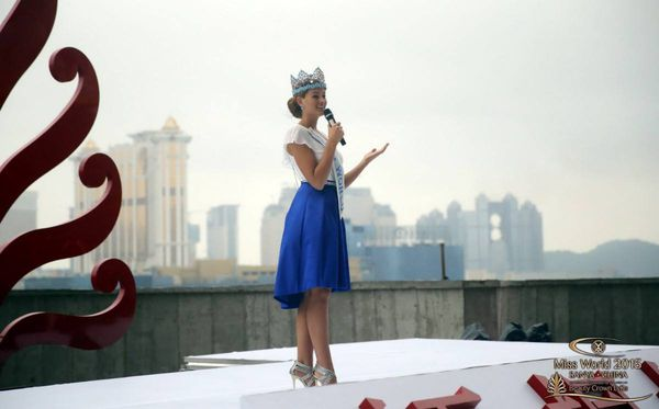 Cérémonie Miss World à Zhuhai