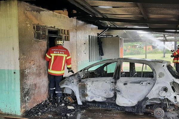 Incendie du local du FCO de Saint-Georges
