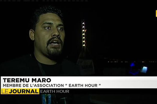Earth Hour, timide participation à Tahiti
