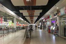 Le centre commercial des Casernes après sa liquidation en juin 2019.