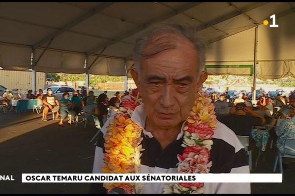 Politique : Oscar Temaru candidat aux sénatoriales