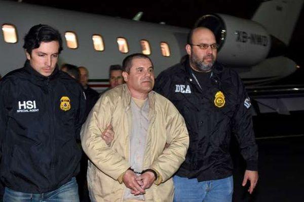 El Chapo extradé