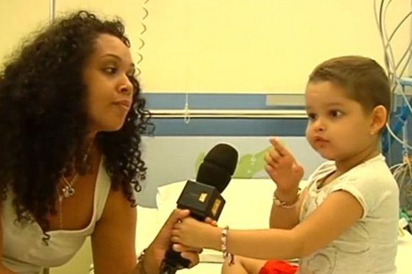 Lilou, 4 ans 1/2 cancéreuse