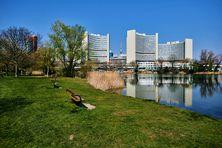 Immeuble de l'ONU à Vienne, abritant le Secrétariat de la Commission des Nations Unies pour le droit commercial international