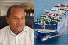Jean-Claude Florentiny - président du Syndicat des Commissionnaires en Douane et Transitaires de Martinique.