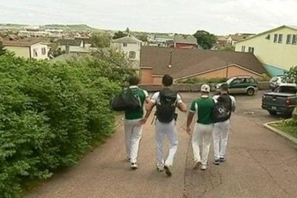 Le Béarn en route vers la finale