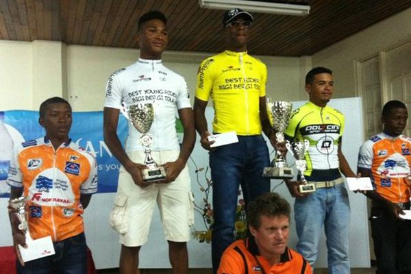 Le podium du Bigi Bergi international