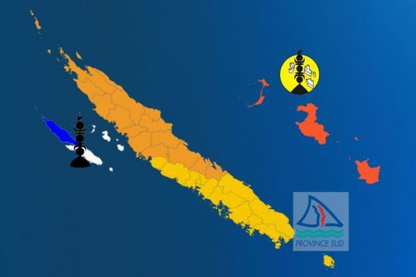 Provinciales 2019 : carte