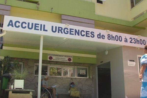 Urgences CHT Gaston Bourret