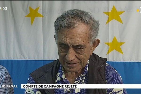 Oscar Temaru risque l'inéligibilité