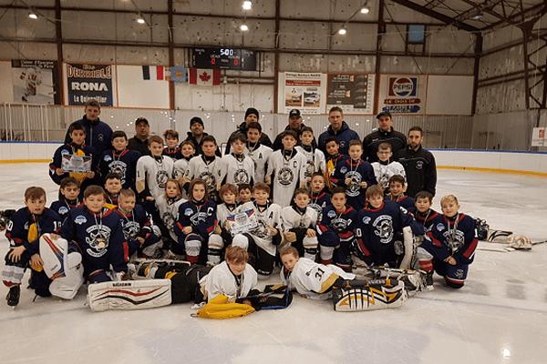 hockey îles de la madeleine contre saint-pierre