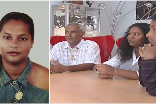 Martine Bhiki et sa famille