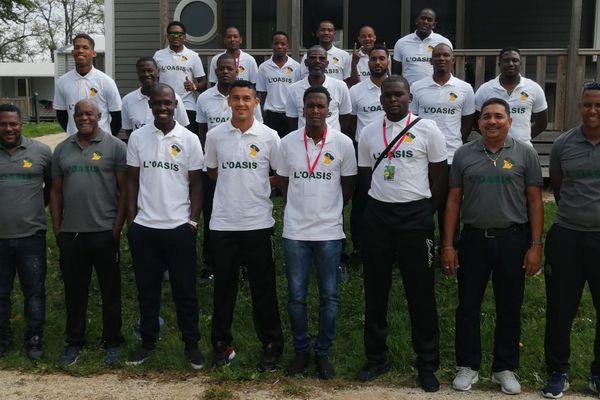 L'équipe Guyanaise des sapeurs pompiers
