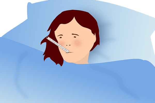 Les cas de grippe en décroissance