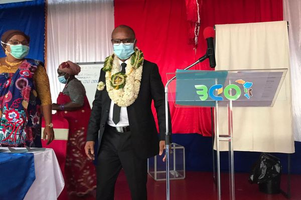 Saïd Ibrahima président de la 3CO et maire de Mtsangamouji