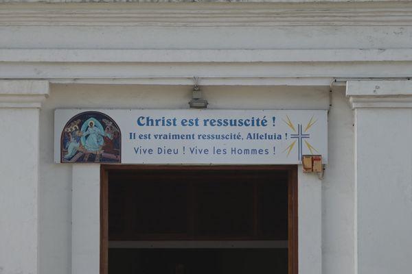 Messe de l'Ascension à Sainte-Suzanne le 13 mai 2021
