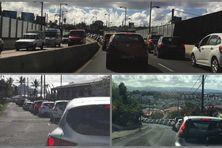 À Schoelcher et à Fort-de-France, la circulation est fortement perturbée.