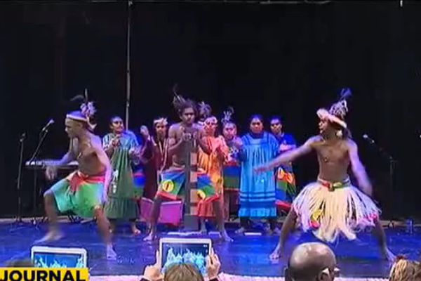 Expo l'Outre-mer Océanien - Danse Kanak