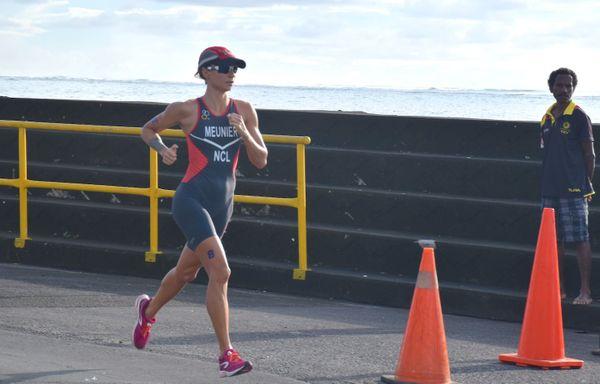 Samoa 2019, Bénédicte Meunier, aquathlon