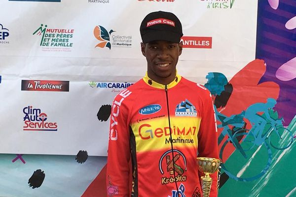 Florian Saint-Louis champion chez dans la catégorie espoir